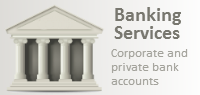 Bank account services